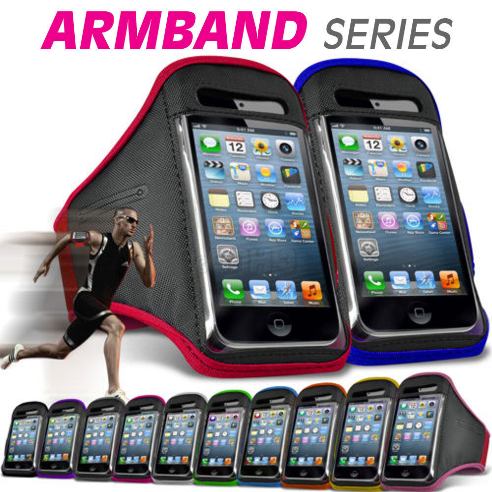 size 40 0462c 70577 Details about Gym Quality Sports Strap Armband Running Case Holder Pouch  for Mobile Phone iPod