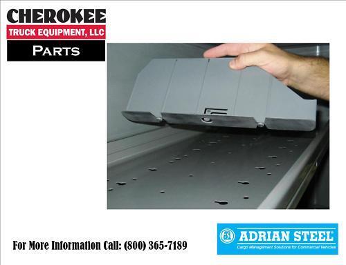 adrian steel dv14c1 ad series shelf divider