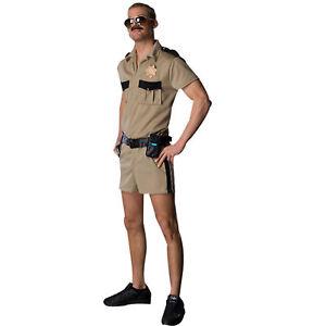 Adult TV Show Reno 911 Lt. Dangle Police Cop Costume