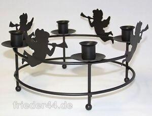 adventskranz kerzenhalter kerzenst nder metall neu 047 ebay. Black Bedroom Furniture Sets. Home Design Ideas