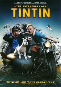 The Adventures of Tintin (DVD, 2012, Inc...