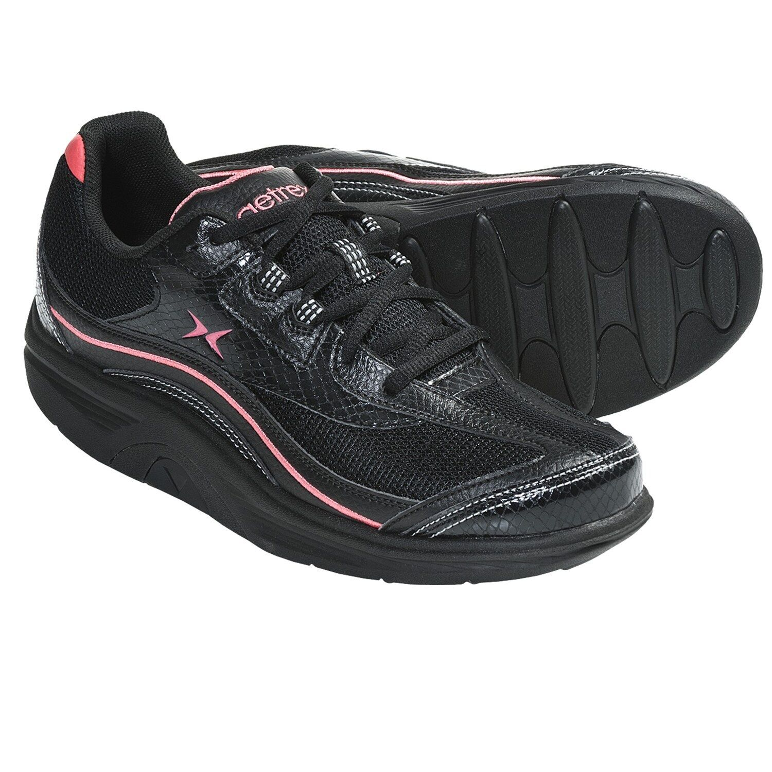aetrex works fitness sneakers athletic sport shoes