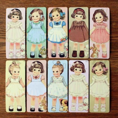 Afrocat Paper Doll Mate Post Card Bookmark Set (30 different style) Perfect Gift in Books, Accessories, Bookmarks | eBay