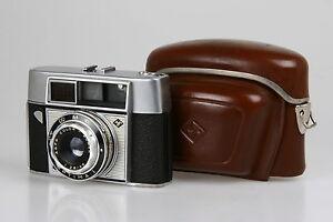 Agfa-Optima-I-mit-Agnar-2-8-45mm-Selen-Belichtungsmesser-incl-Tasche-BY-6392