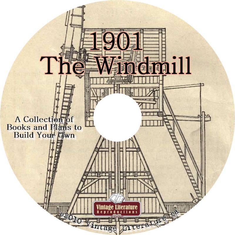 Green Power Windmill Pump Water Plans