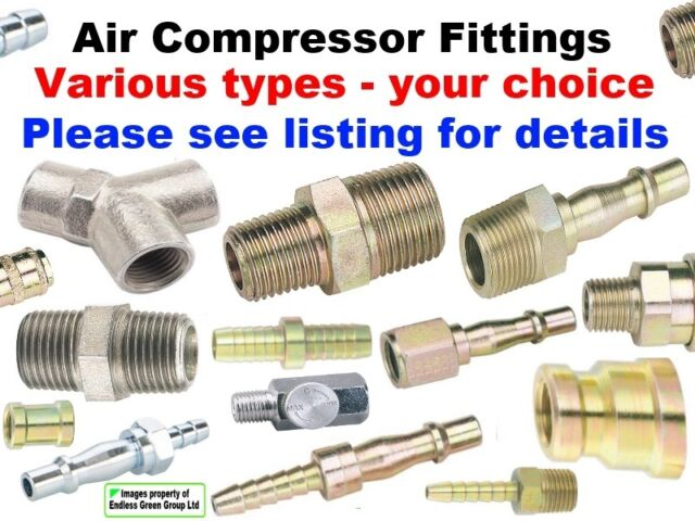Pcl air compressor fitting quot hose adaptor to coupling