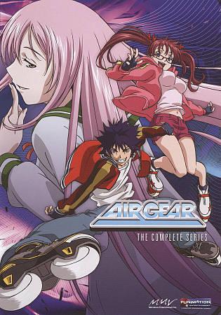 Air Gear The Complete Series DVD, 2010, 4 Disc Set