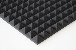 Akustik-Pyramidenschaumstoff-Noppenschaum-Profilschaum-Daemmung-Schaumstoff