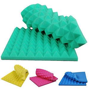 akustik schaumstoff pyramiden schall schallschutz 90x45x7. Black Bedroom Furniture Sets. Home Design Ideas