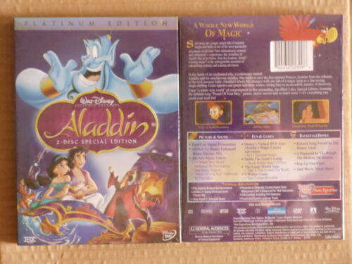 Aladdin (DVD, 2004, 2-Disc Set, Special Edition Engl... in DVDs & Movies, DVDs & Blu-ray Discs | eBay