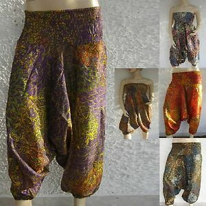 Aladinhose-Pumphose-Harem-pantalon-pants-goa-ethno-hippie-indien-inde-Jumpsuit