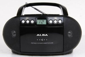 Alba-Portable-CD-and-Cassette-Player
