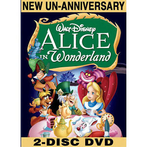 Alice in Wonderland (DVD, 2010, 2-Disc S...