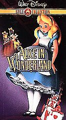 Alice in Wonderland (VHS, 2000, Gold Col...