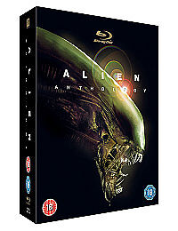 Alien Anthology (Blu-ray, 2010, 6-Disc S...