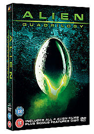 Alien Quadrilogy (Blu-ray, 2012, 4-Disc ...