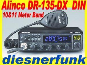 Alinco-DR-135-DX-10-11m-AM-FM-SSB-CW-PA-Amateurfunkgeraet-DIN-das-Original-V2013