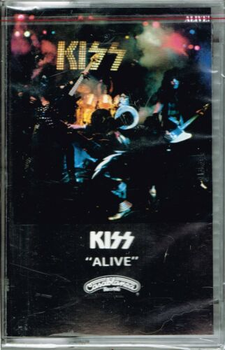 Alive! by Kiss, BRAND NEW FACTORY SEALED Cassette ( May-1989, PolyGram) in Music, Cassettes | eBay