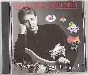 All the Best by Paul McCartney (CD, 1988...