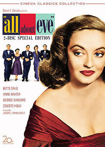 All About Eve (DVD, 2008, 2-Disc Set, Be...