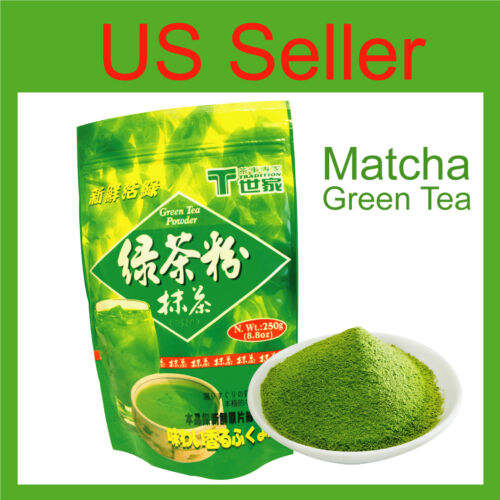 All Natural Pure Tradition Matcha Green Tea Powder Frappe Smoothie Latta 8.8 Oz in Home & Garden, Food & Beverages, Tea | eBay
