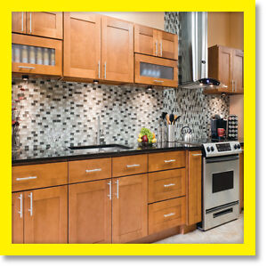 All solid wood maple kitchen cabinets 10x10 rta newport ebay for 10x10 kitchen cabinets