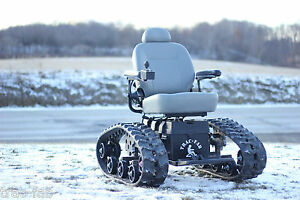 all terrain electric tracked wheelchair mobility
