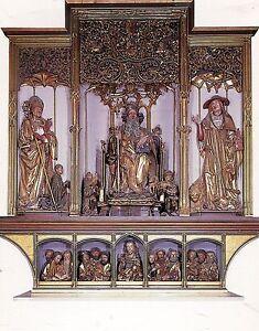 Alte-Kunstpostkarte-Isenheimer-Altar-Ausschnitt