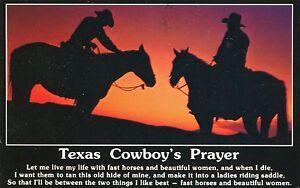 Alte-Postkarte-Texas-Cowboys-Prayer