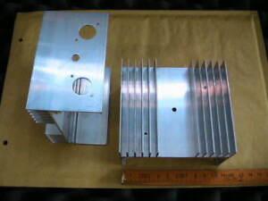 Alu-Kuehlkoerper-110x100mm-mit-Bohrungen-4-Stueck-im-Set-geringes-Gewicht-9885