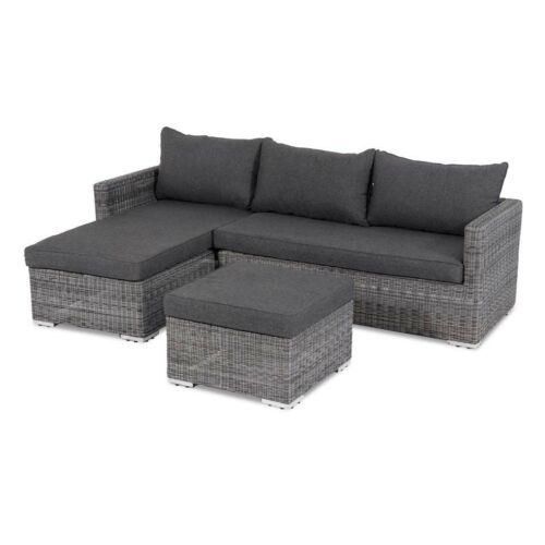 alu lounge set gartenset aruba gartenm bel loungeset gartengarnitur duo liege ebay. Black Bedroom Furniture Sets. Home Design Ideas
