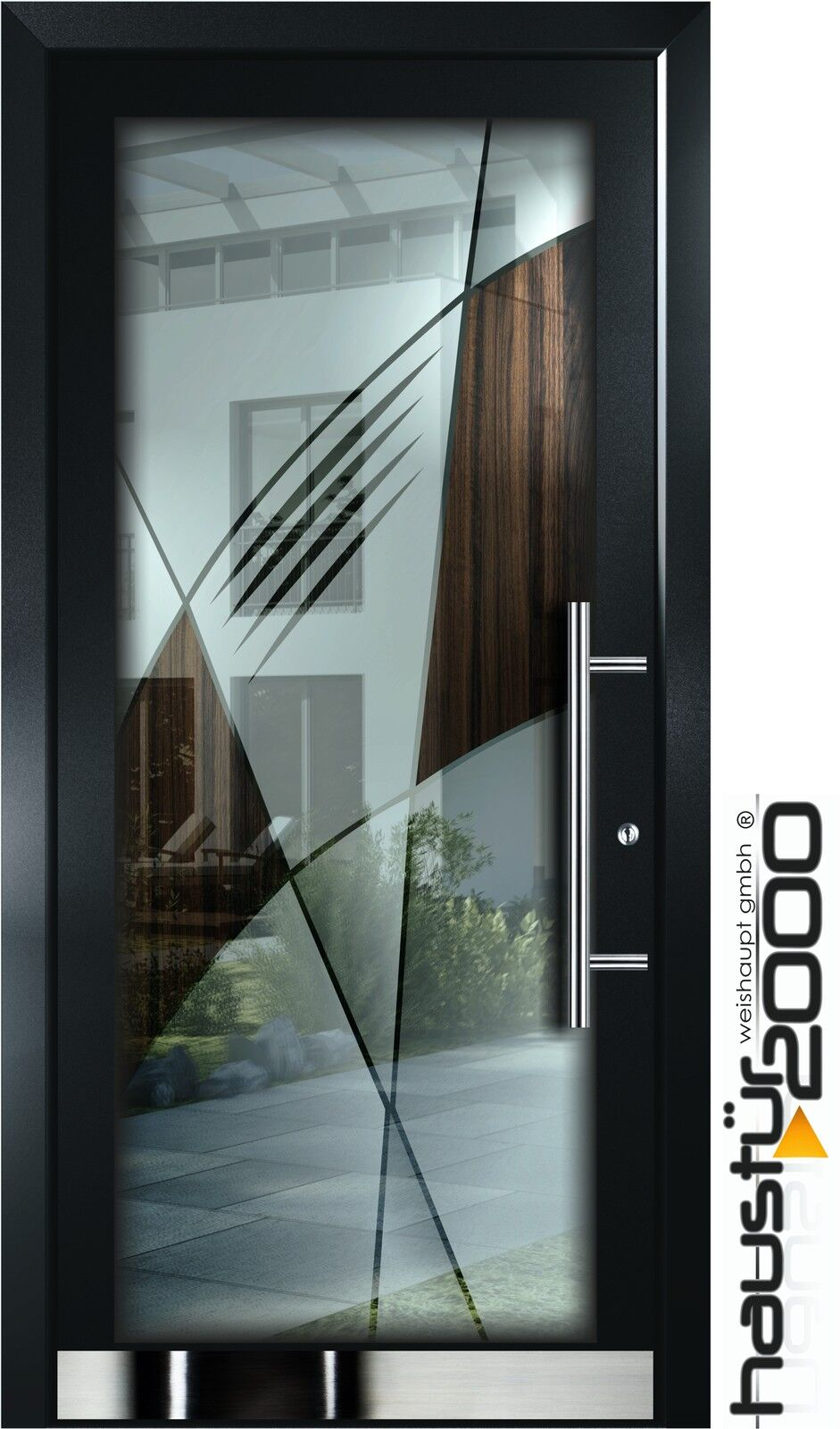 aluminium haust r glas t r alu haust ren nach ma mod ht 1306 gla nach ma ebay. Black Bedroom Furniture Sets. Home Design Ideas