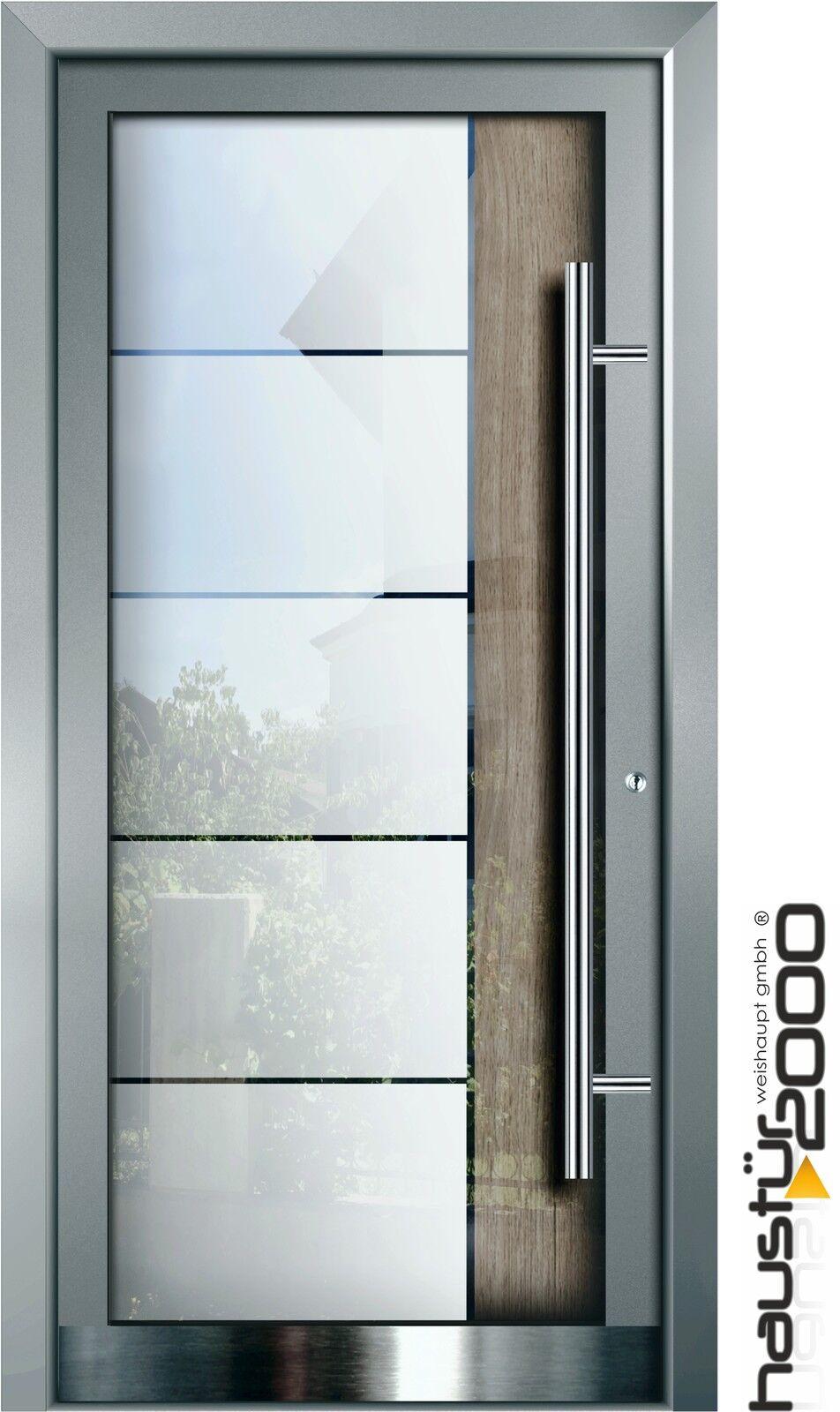 aluminium haust r glas t r alu haust ren nach ma mod ht 5460 gla nach ma ebay. Black Bedroom Furniture Sets. Home Design Ideas