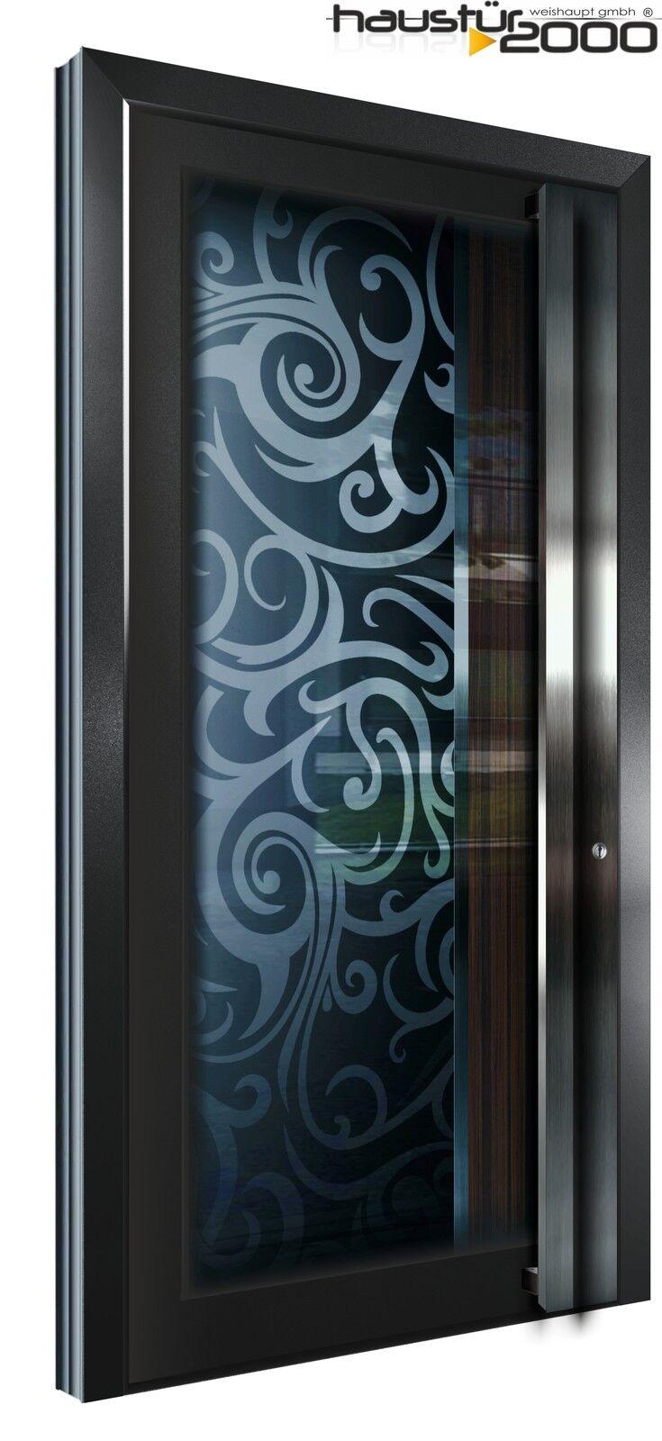 aluminium haust r glas t r alu haust ren nach ma mod ht 5462 2 gla nach ma ebay. Black Bedroom Furniture Sets. Home Design Ideas