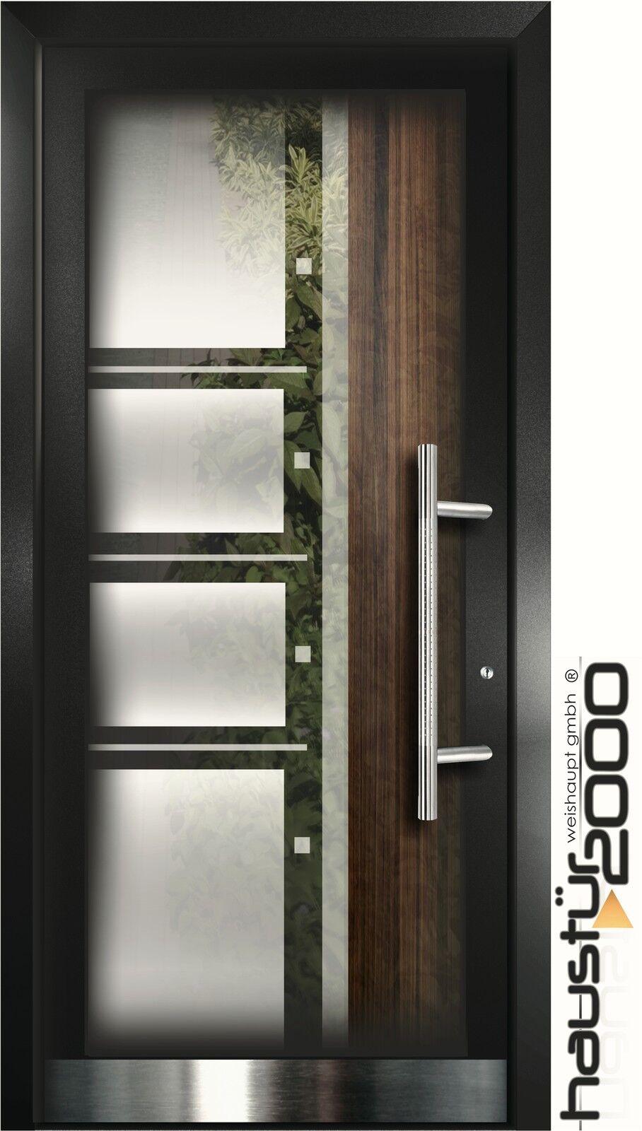 aluminium haust r glas t r alu haust ren nach ma mod ht 5463 gla nach ma ebay. Black Bedroom Furniture Sets. Home Design Ideas