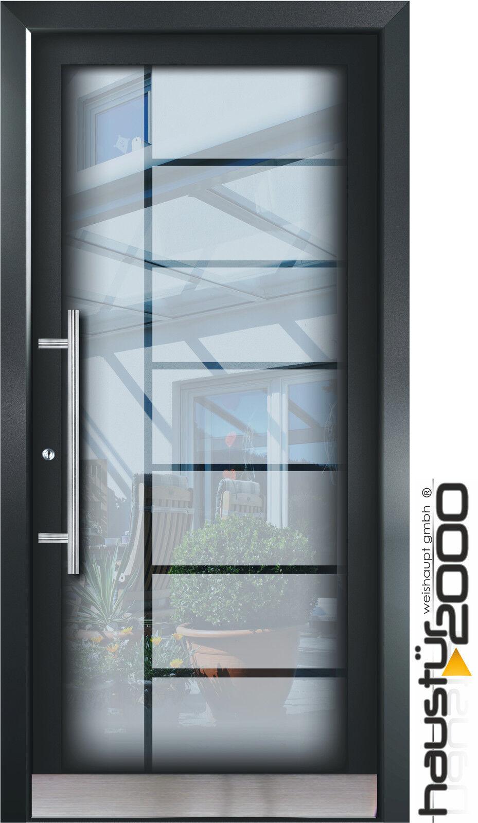 aluminium haust r glas t r alu haust ren nach ma mod ht 5482 gla nach ma ebay. Black Bedroom Furniture Sets. Home Design Ideas