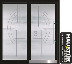 aluminium haust r glas t r alu haust ren nach ma mod ht 5486 gla nach ma ebay. Black Bedroom Furniture Sets. Home Design Ideas