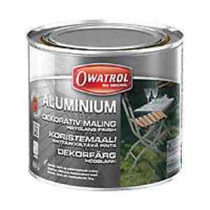 aluminium owatrol 500ml korrosionsschutz rostige oberfl chen rost bis 175 neu ebay. Black Bedroom Furniture Sets. Home Design Ideas