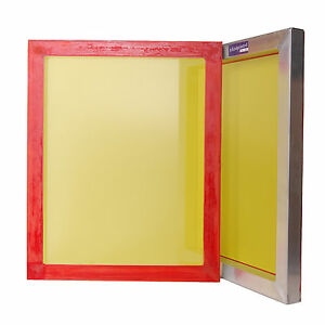 Aluminium silk screen frames