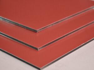aluverbundplatte gelb rot 3mm 0 1mm aluminium. Black Bedroom Furniture Sets. Home Design Ideas