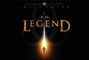I Am Legend (DVD, 2010, 3-Disc Set, WS; ...