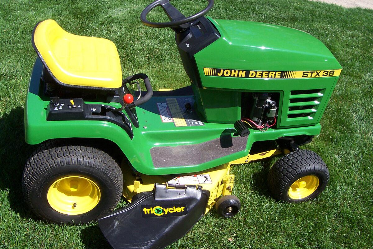 John Deere Stx 38 : John deere riding lawn mowers for sale ebay autos post