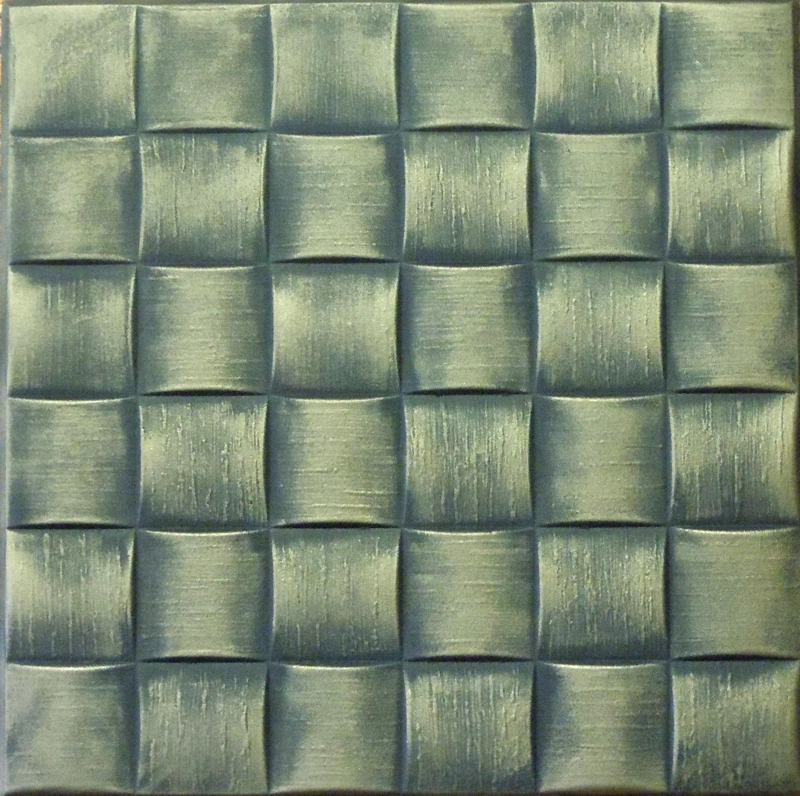 Texture Styrofoam Ceiling Tiles 20x20 R25ab Antique Brass