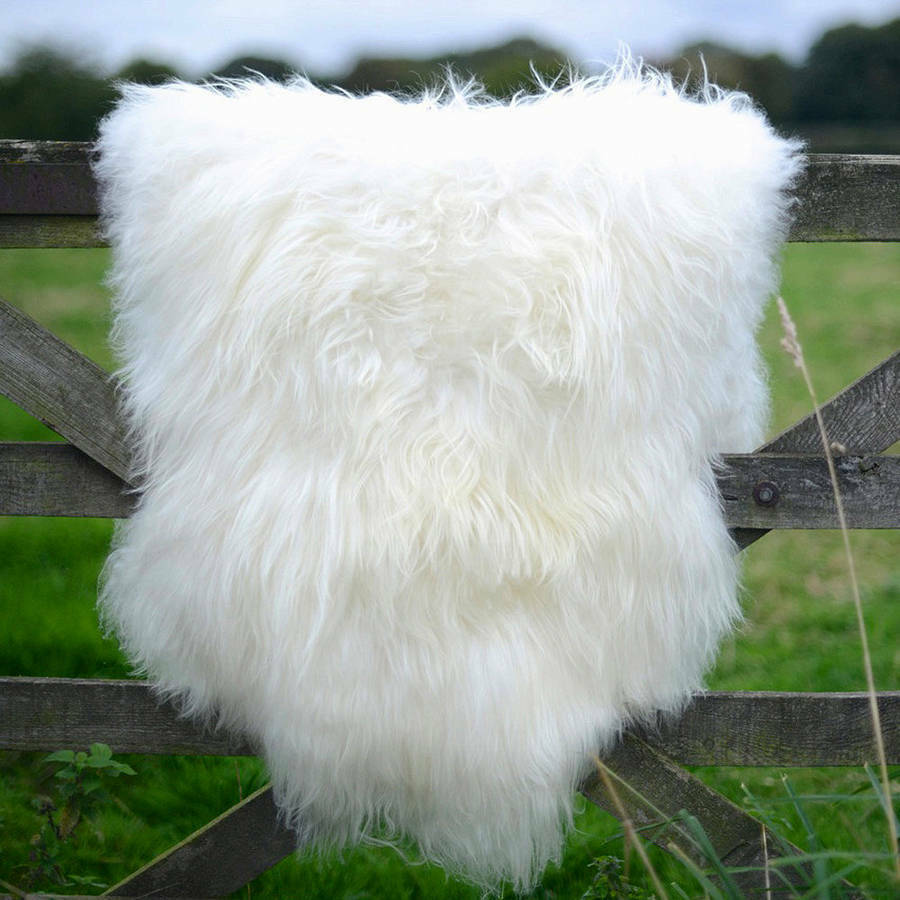 Amazing Extra Large Genuine Soft Thick Wool Sheepskin