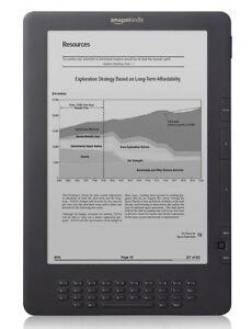 Amazon Kindle DX (2nd Generation) 4GB, 3...