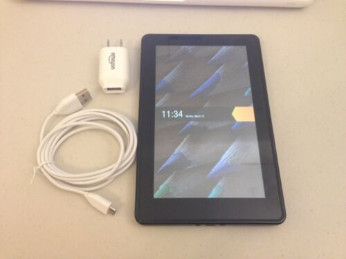 Amazon Kindle Fire 8GB, Wi-Fi, 7in - Black - D01400 in Computers/Tablets & Networking, iPads, Tablets & eBook Readers | eBay