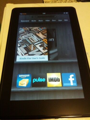 Amazon Kindle Fire Tablet and E-Reader 8GB, Wi-Fi, 7in - Black in Computers/Tablets & Networking, iPads, Tablets & eBook Readers | eBay