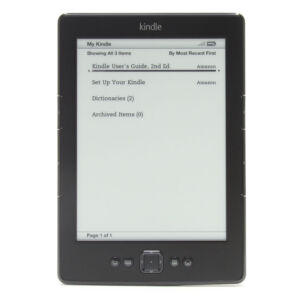 "Amazon Kindle Wi-Fi 6"" E Ink Display 2GB..."