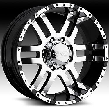 American Eagle 079 Wheels Rims 17x9 Fits Chevy GMC Duramax 2500