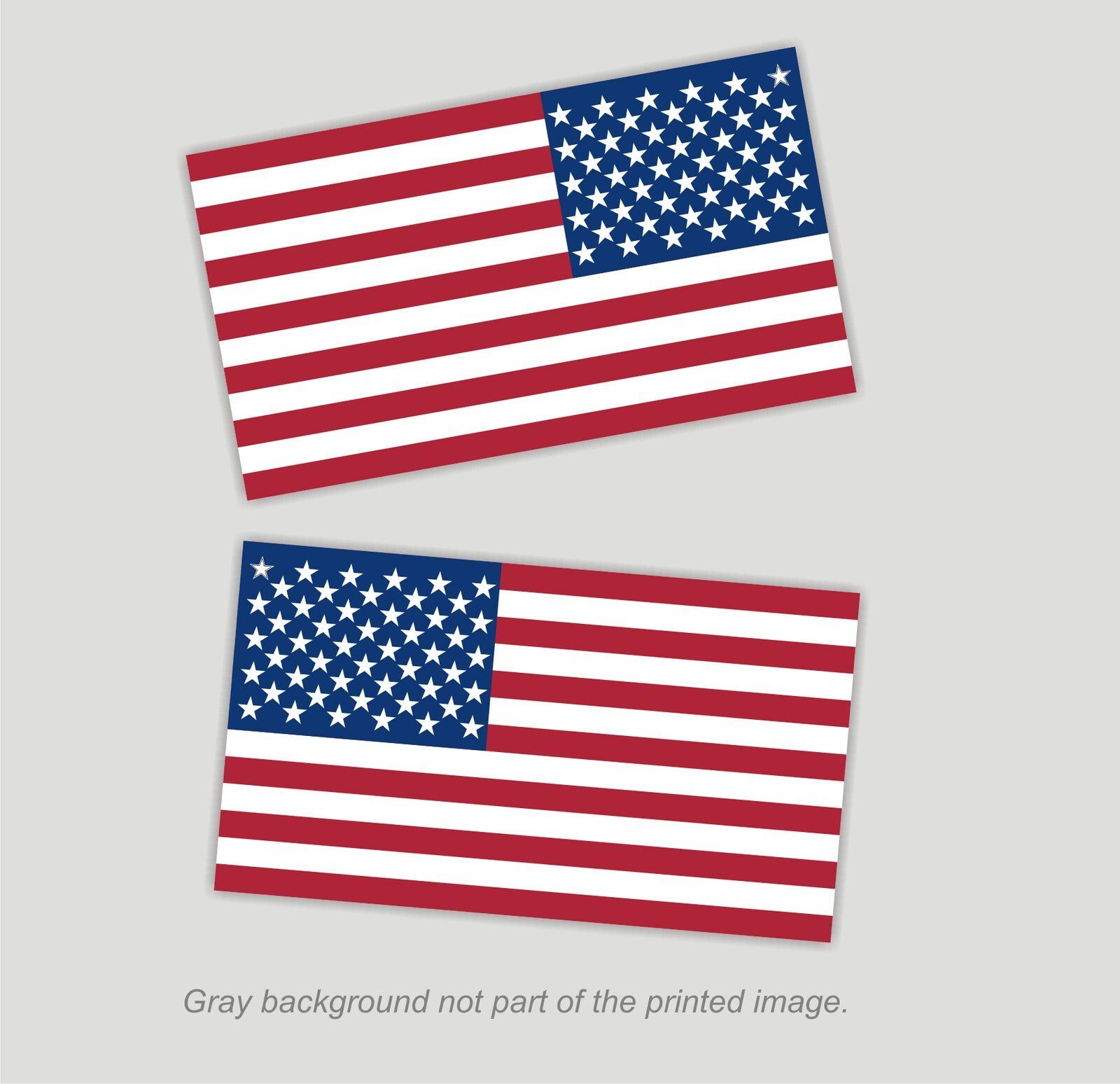 5588b42c86d American Flag Decals Stickers 2.375 x 4 1 RH